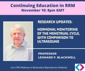 RRM Research Updates: Hormonal monitoring of the menstrual cycle, with comparison to ultrasound