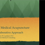 January Grand Rounds: RRM and Medical Acupuncture to Optimize Fertility Health