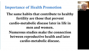 February Grand Rounds: Fertility Health Promotion in Men and Women